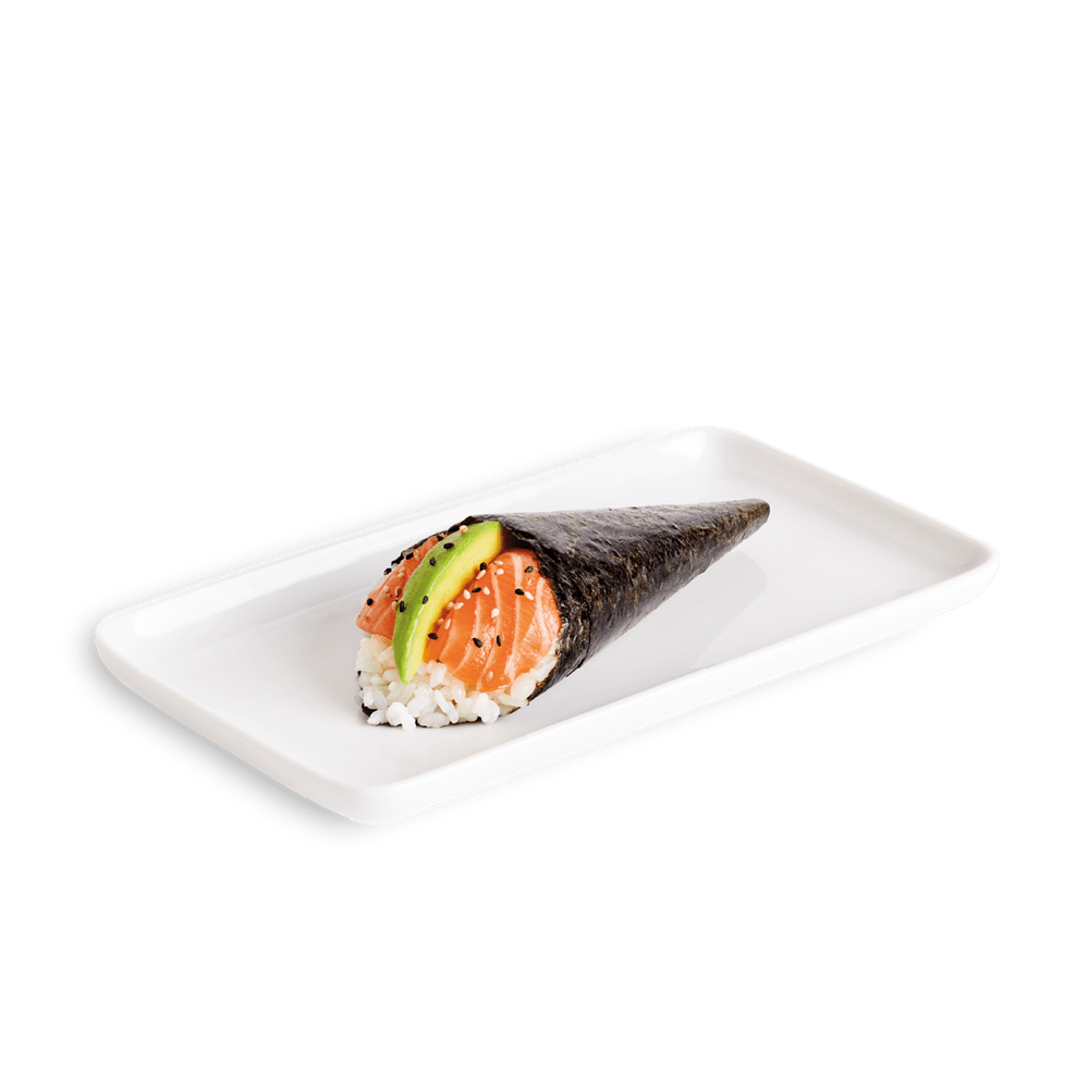Salmon & Avocado Temaki