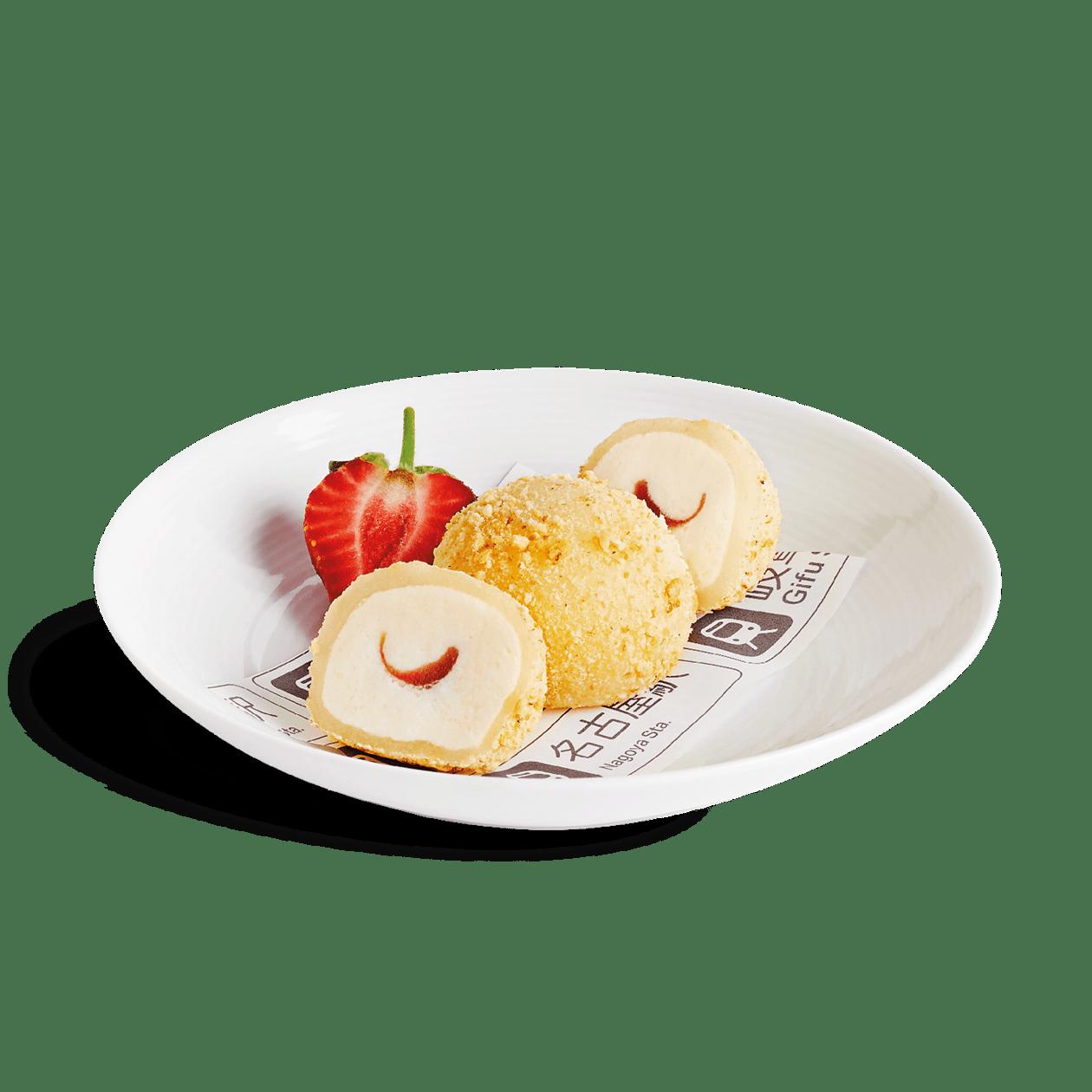 Strawberry Cheesecake Mochi